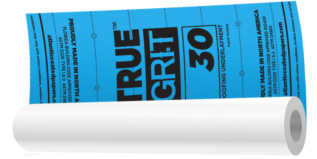 True Grit 30 Synthetic Roofing Underlayment