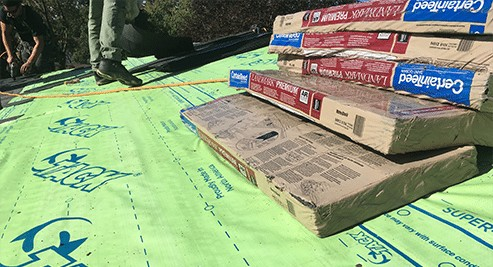 Super-Tack Roofing Underlayment Installation 1