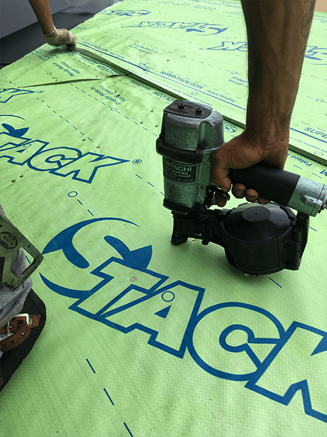 Super-Tack Roofing Underlayment Installation 3