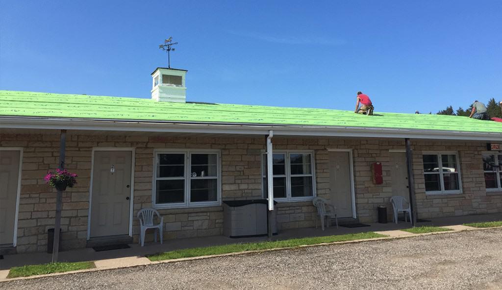 Super-Tack Roofing Underlayment Installation 4